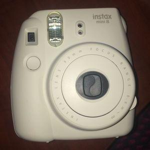 INSTAX WHITE MINI 8